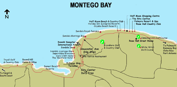 Montego Bay Jamaica Pictures and videos and news CitiesTipscom